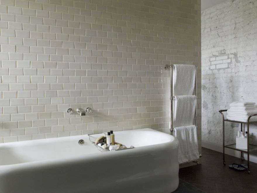 Soho House Berlin Bathroom With Towel Warmers
