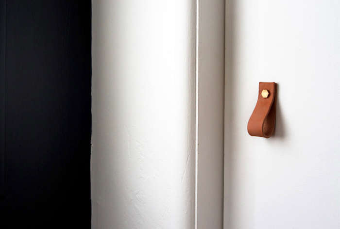 10 Easy Pieces Leather Cabinet Hardware Remodelista