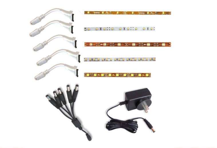 Flexible LED Strip Light Sample Kit Remodelista
