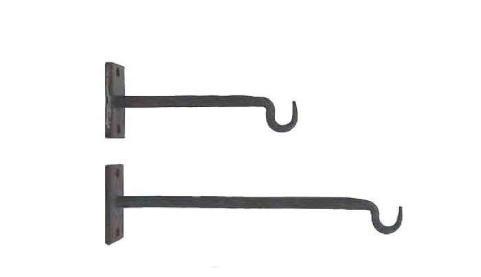 Straight-arm-iron-hook-duo