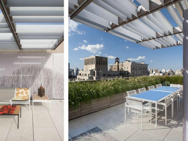Park Avenue Roofscape: