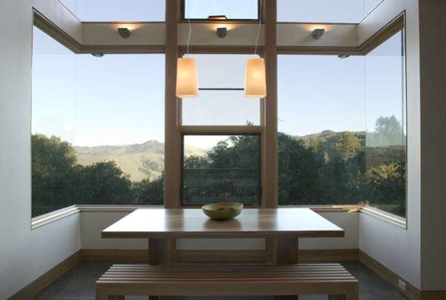 Dining Room, House Ocho, Santa Lucia Preserve, California Photo: Paul Dyer