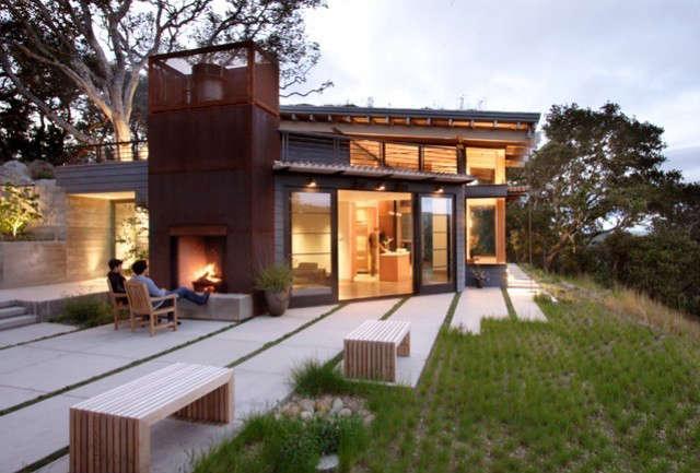 House Ocho, Santa Lucia Preserve, California Photo: Paul Dyer