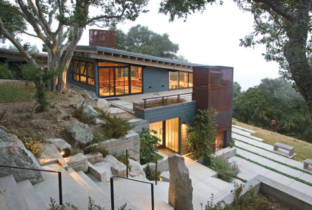 House Ocho, Santa Lucia Preserve, California Photo: Kodiak Greenwood