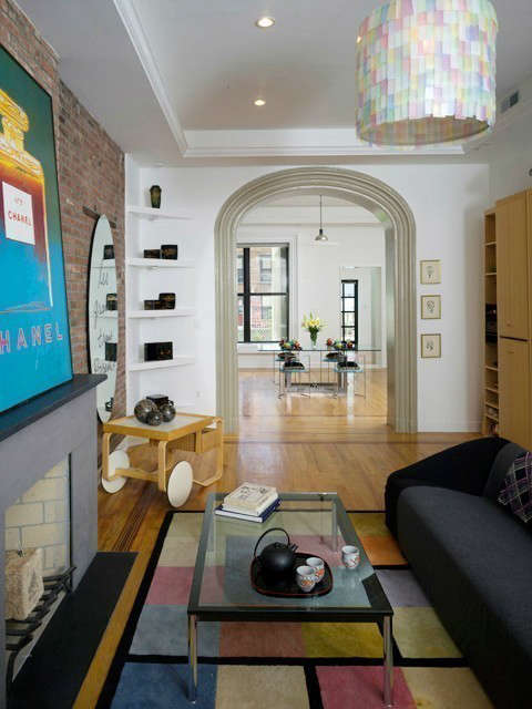 Harlem Townhouse Living Room &#8\2\1\1; click here for more information on this project
