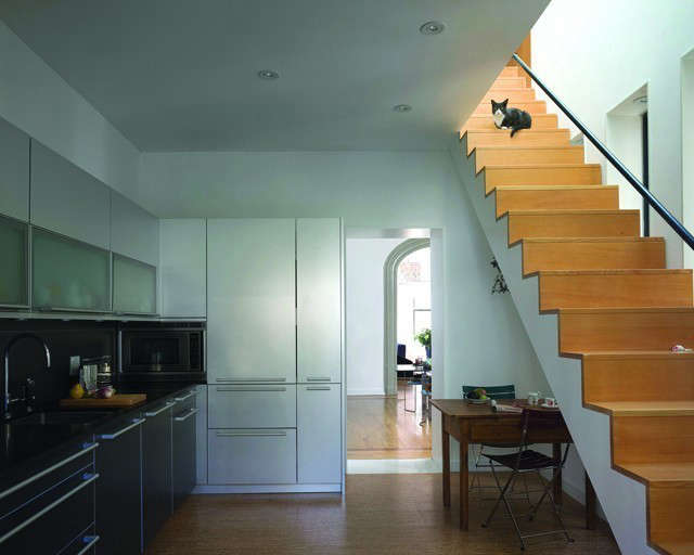 Harlem Townhouse Kitchen &#8\2\1\1; click here for more information on this project