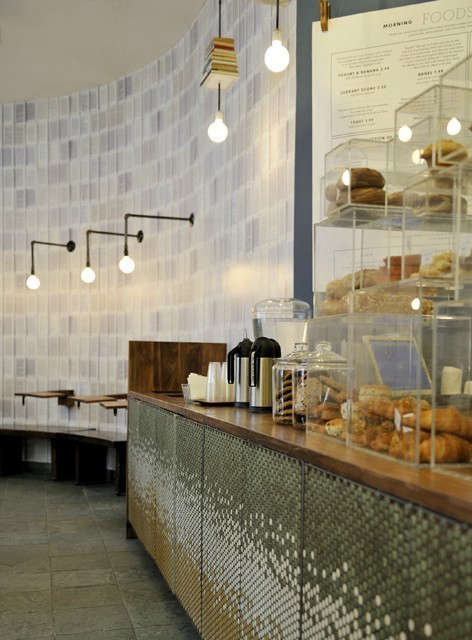 McNally Jackson Cafe Bar Counter &#8\2\1\1; click here to learn more about the project