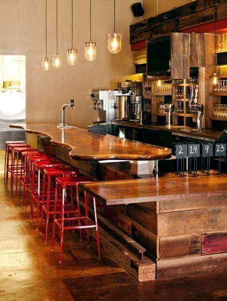 Roam Artisan Burgers: Roam Artisan Burgers features organic and sustainable meat and produce, with house-made condiments and sodas, kombucha on tap, and Strauss organic shakes. Salvaged barn siding from Black&#8\2\17;s Farmwood, vintage steel beams and local Heath tile add substance and character to the rustic, yet clean, fast-casual ambiance.