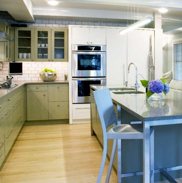 Far Rockaways Residence &#8\2\1\1; BILLINKOFF ARCHITECTUREkitchen