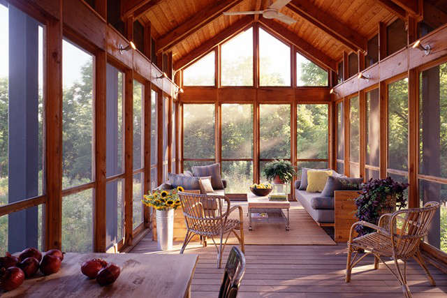 Bucks County Residence &#8\2\1\1; BILLINKOFF ARCHITECTUREscreen porch