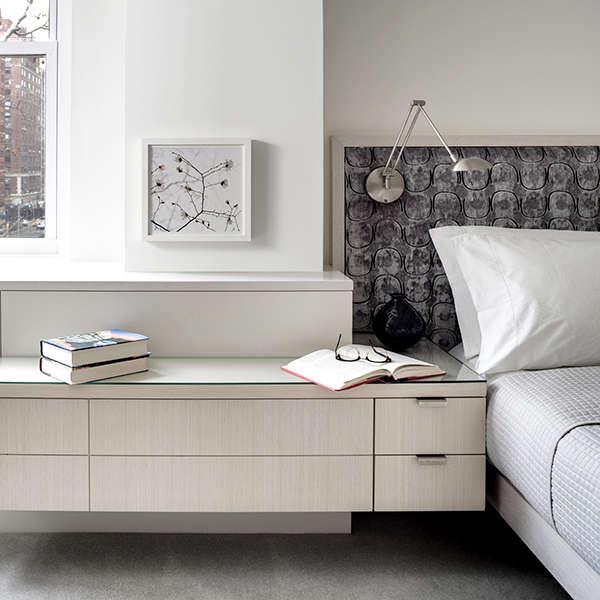 Park Avenue Apartment: master bedroom Photo: Bruce Buck