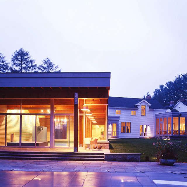 Old Branchville Road Residence, Ridgefield, CT Photo: Donald Martinez