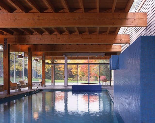 Old Branchville Road Residence, Ridgefield, CT &#8\2\1\1; BILLINKOFF ARCHITECTUREindoor pool