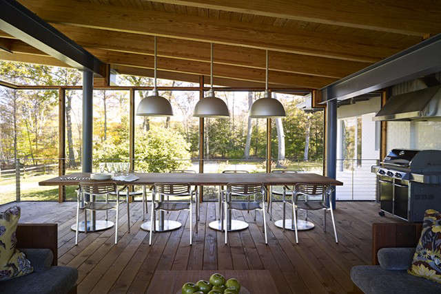 Paradise Lane, New Milford, CT &#8\2\1\1; BILLINKOFF ARCHITECTUREscreen porch