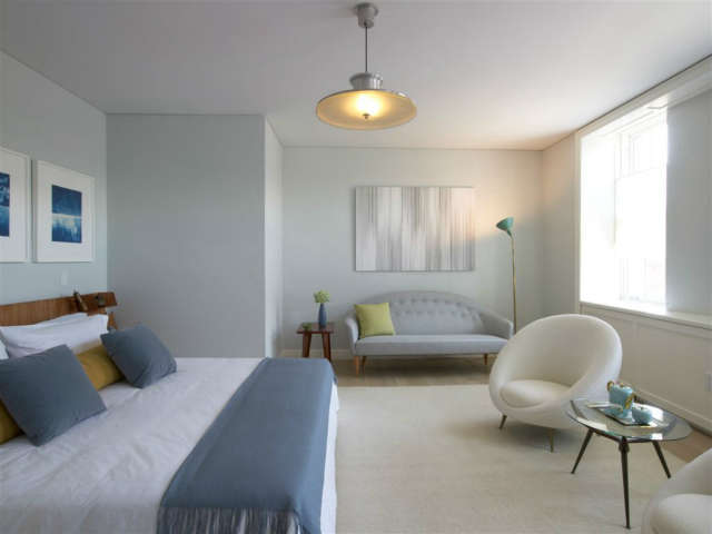 West Village Master Bedroom: an &#8\2\20;Urban Sanctuary&#8\2\2\1; for a busy life. Photo: Eric Laignel