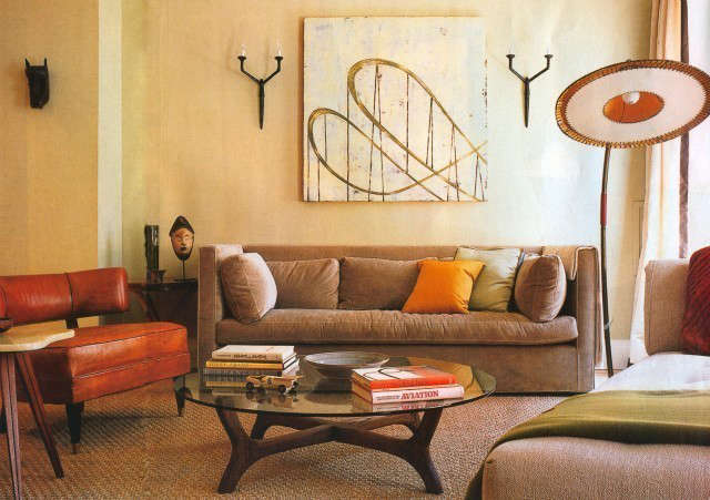 Park Ave Living Room, New York City Photo: Eric Laignel