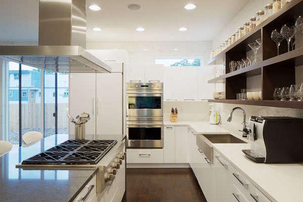 Colorado Modern House Kitchen &#8\2\1\1; Photo:David Lauer