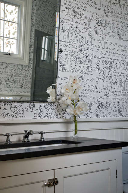 Bridgehampton Bathroom &#8\2\1\1; Photo:Adam Kane Macchia