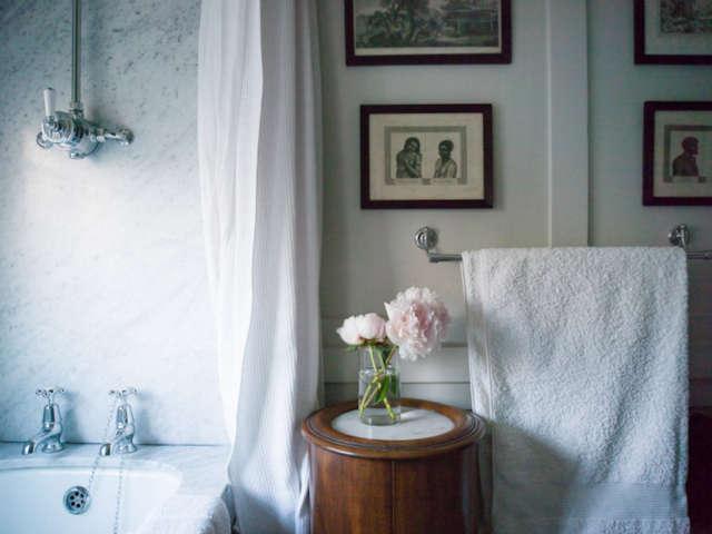 A bathroom, London: