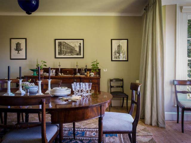 A dining room, Dorset