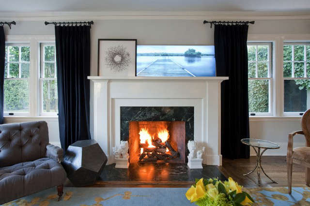 Pao Alto Residence Fireplace &#8\2\1\1; A Geremia Design Residential Project. Visit our website for more information.