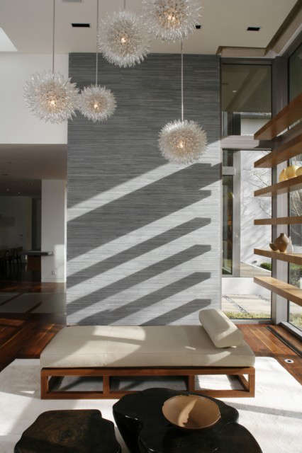 Living room Photo: Art Gray