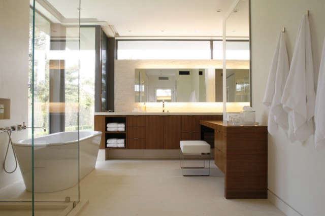 Master bathroom: Master bathroom, her&#8class=