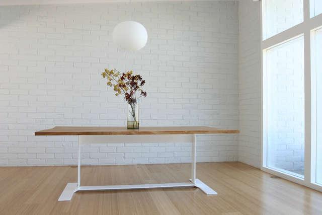 Belvedere table: Custom dining table. Photo: Christopher C. Deam