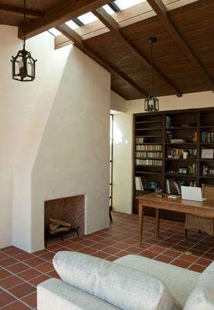 La Mesa Living Room and Fireplace