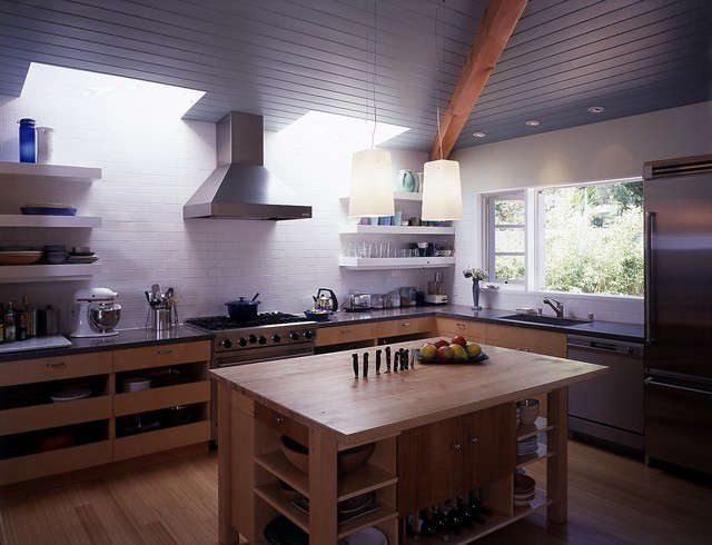 Palisades House kitchen