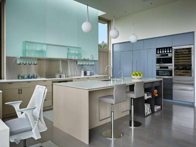 Hillside Modern Kitchen
