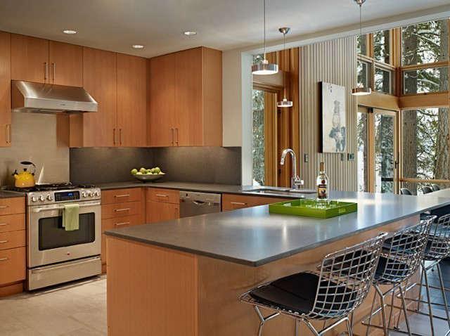 North Lake Wenatchee Kitchen