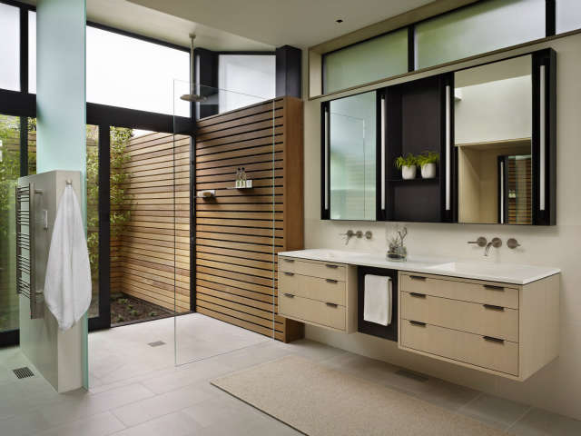 Hillside Modern Shower