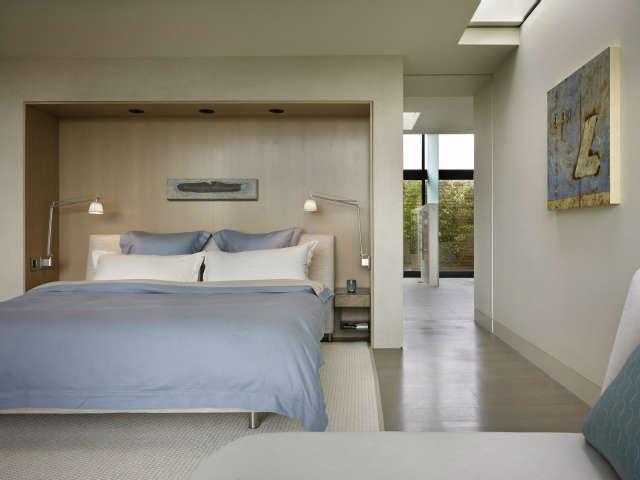 Hillside Modern Bedroom