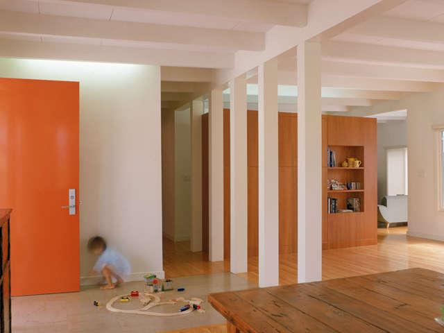 Lewis schoeplein architects new york city mid for Living room 101 atlantic ave boston