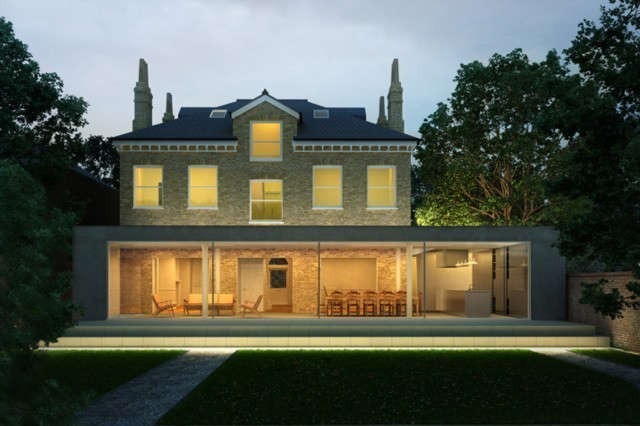 On Site &#8\2\1\1; House in Chiswick: Refurbishment and ground floor extension to a family home.