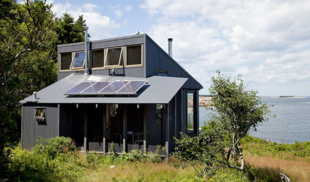 Maine Island House &#8class=