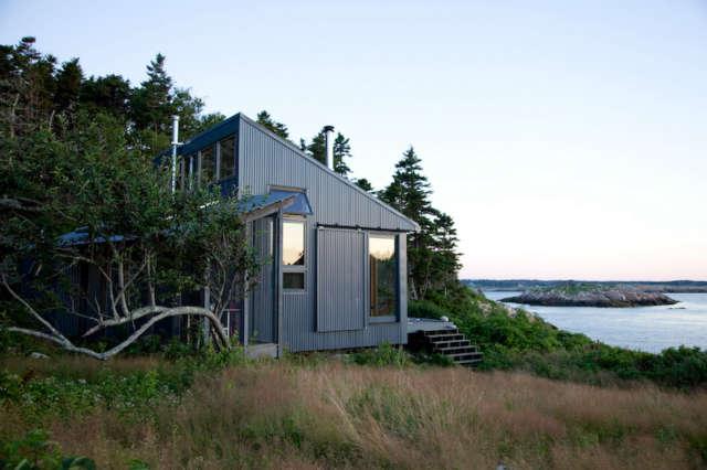 Maine Island House