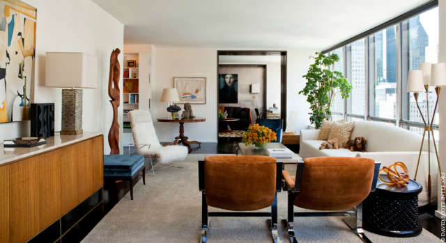 UN Plaza Living Room Photo: Marili Forastieri