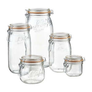 Le Parfait Jars from Crate and Barrel | Remodelista