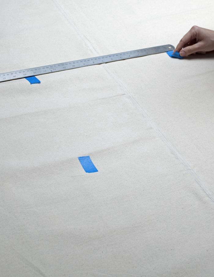 Fabulous Diy Painted Runner Tablecloth By David Stark Remodelista Largest Home Design Picture Inspirations Pitcheantrous