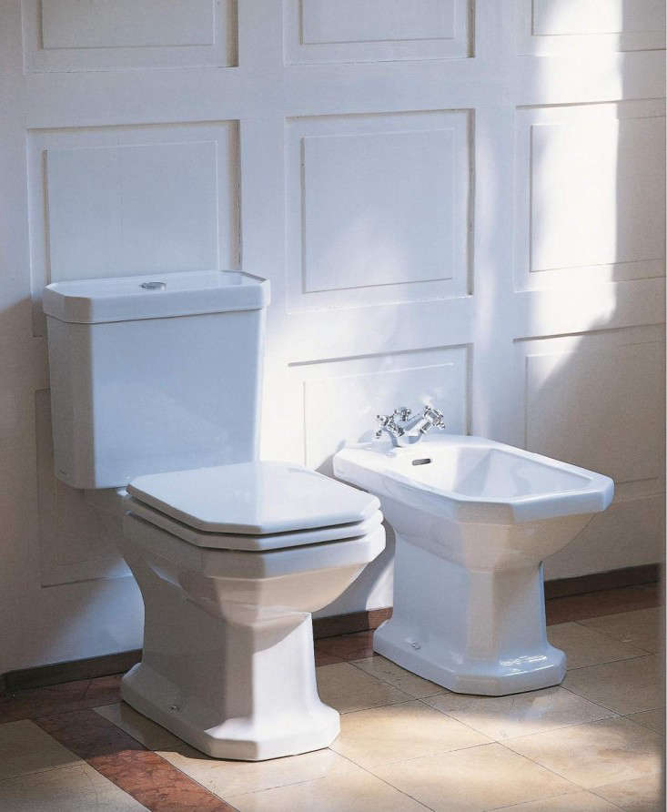 duravit floor standing toilet 1930 remodelista. Black Bedroom Furniture Sets. Home Design Ideas