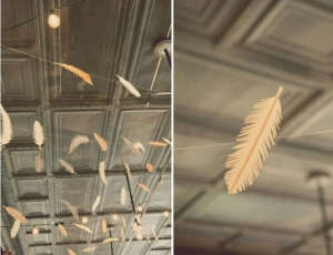 Feather as Decor Remodelista
