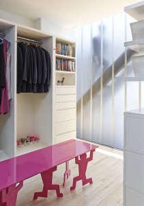 Murphy Burnham & Buttrick Architects, New York Loft dressing room | Remodelista