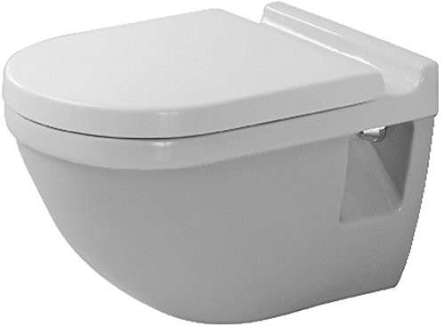 duravit 2200090000 starck 3 wall mount toilet bowl. Black Bedroom Furniture Sets. Home Design Ideas