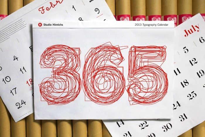 365-Typography-Calendar
