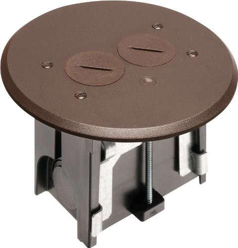 Arlington Flbar101br 1 Adjustable Round Floor Box Kit With