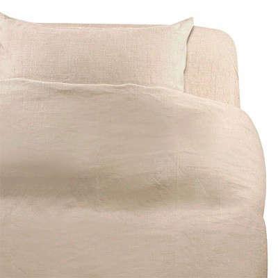 Linen Calico Duvet Cover Remodelista