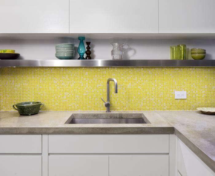 A Guide To Concrete Kitchen Countertops Remodeling 101: Remodeling 101: Concrete Countertops: Remodelista