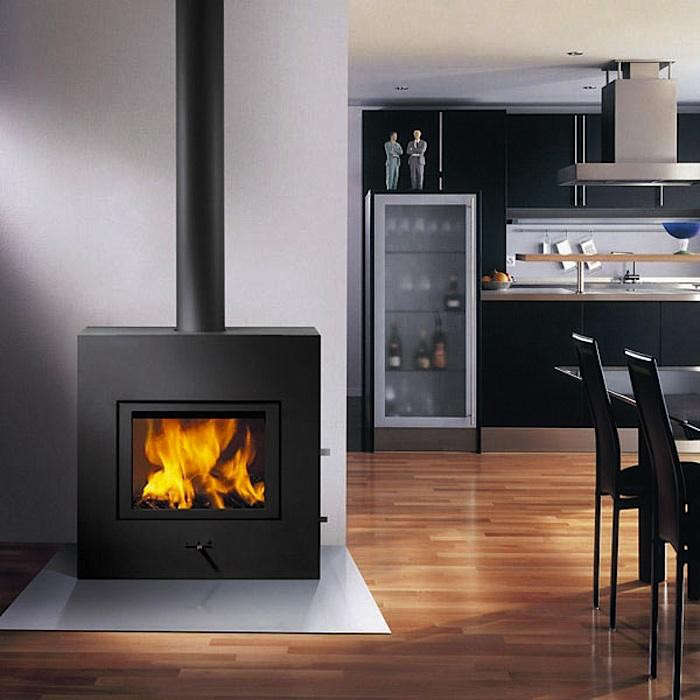RAIS X-Basic Fireplace - 10 Easy Pieces: Freestanding Wood Stoves - Gardenista